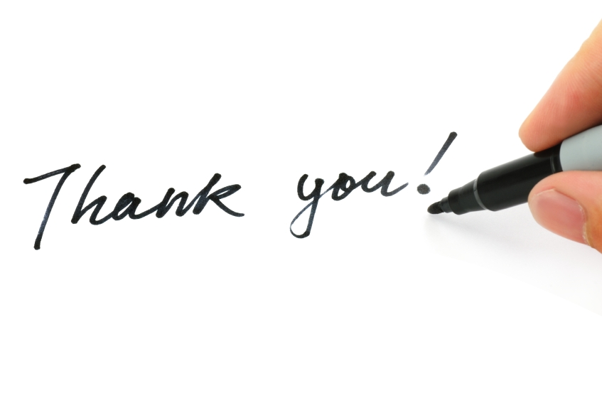 3 Quick Tips For Executive Thank-You Letters