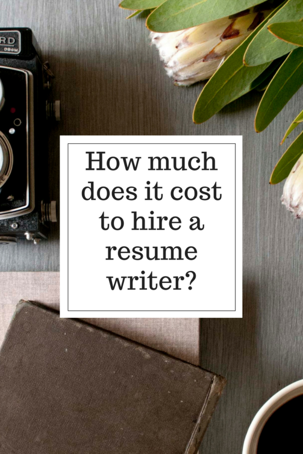 How much does a professional resume writing service cost